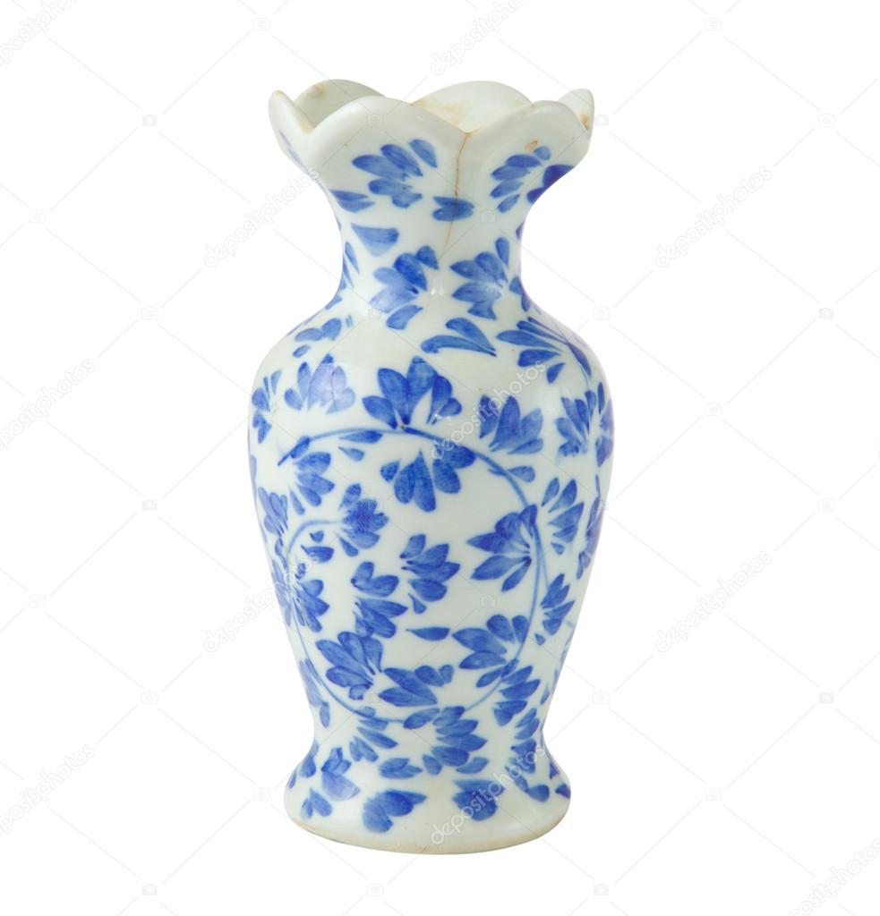 Chinese antique vase stock photo witthayap 12437221 chinese antique vase on the plain back ground photo by witthayap reviewsmspy