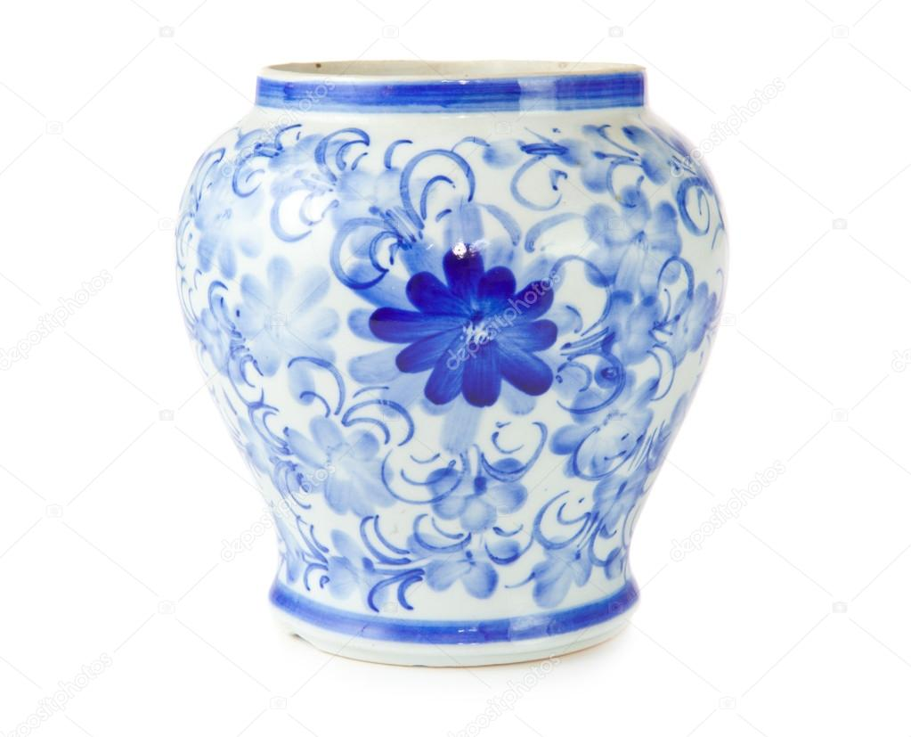 Chinese antique vase stock photo witthayap 12440672 chinese antique vase on the plain back ground photo by witthayap reviewsmspy