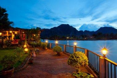 View of Vang Vieng