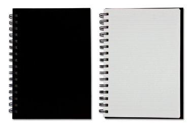 Black Blank Note Book
