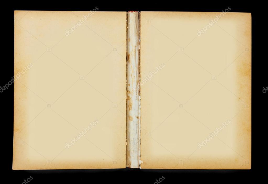 Vecchio libro aperto bianco foto stock witthayap 12629784 for Foto di un libro