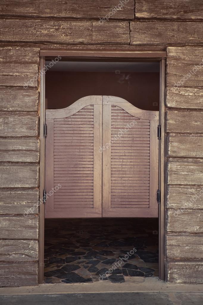 Door of old western building \u2014 Stock Photo & Door of old western building \u2014 Stock Photo © WitthayaP #17173837