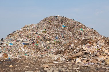 mountain of garbage