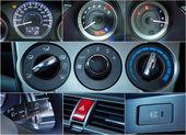 Photo Car interior details collage