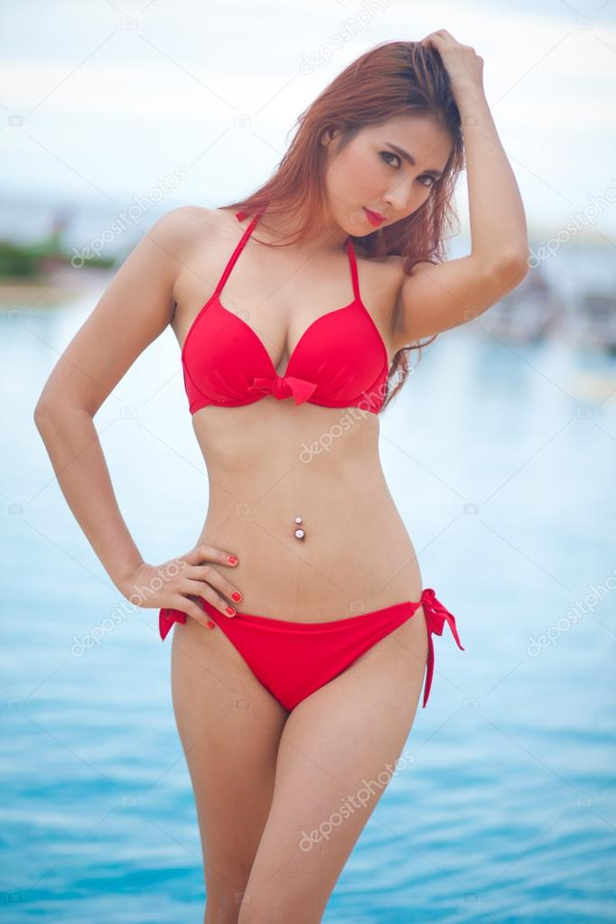 Asian In Bikini Girl Sexy