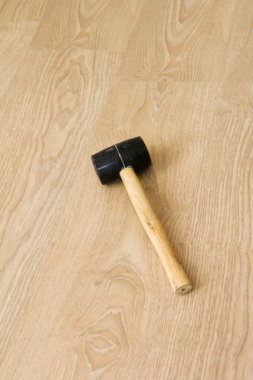 Hammer on New Laminate Flooring
