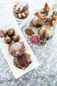 čokoládové cukrovinky