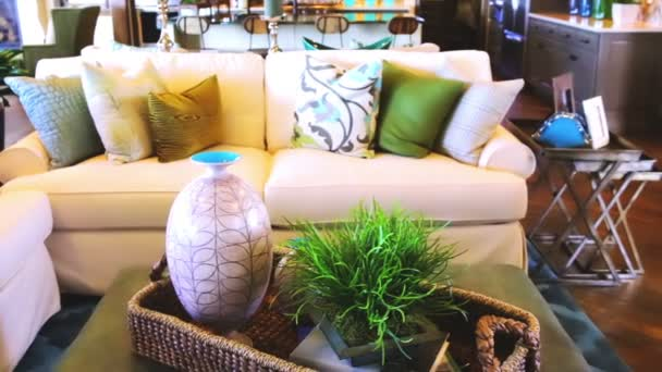 Luxury interior of american living room
