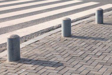 Close-up Pedestrian Crossing