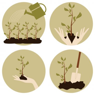 Gardening Icons Collection
