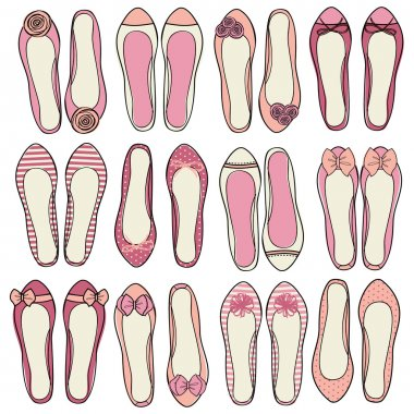 Ballerina Shoes Collection