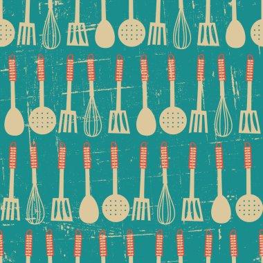 Retro Kitchen Pattern