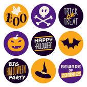 Halloween ikony kolekce