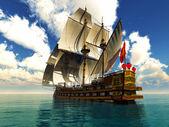 pirát brigantine