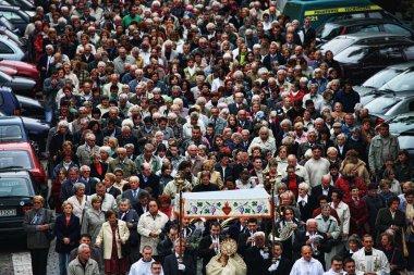 Religious procession in Wroclaw, Poland /2008/