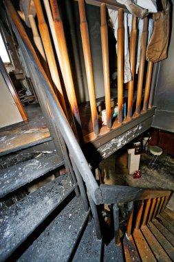 Burnt apartment