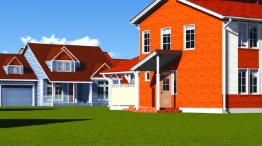 Nice Homes in Neighborhood