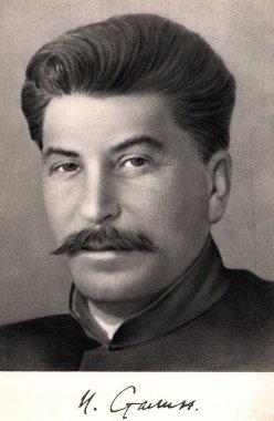 Vintage photograph of Joseph stalin