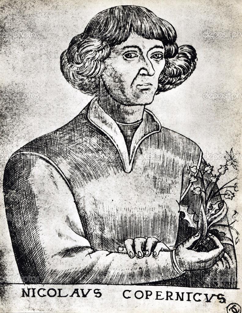 Portret Mikołaja Kopernika W 1473 Zdjęcie Stockowe Editorial