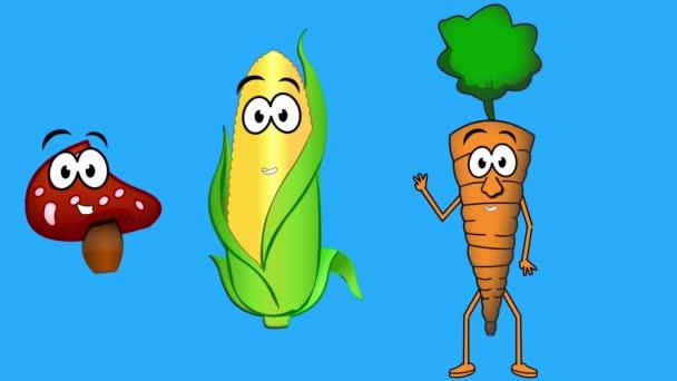 sprechendes Gemüse