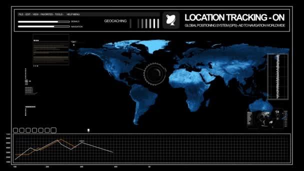 GPS sledování