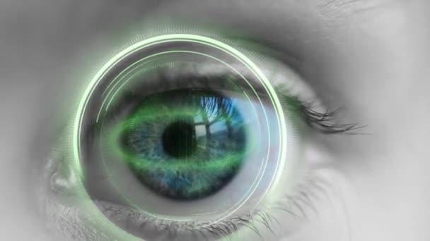 női szem scan technológia