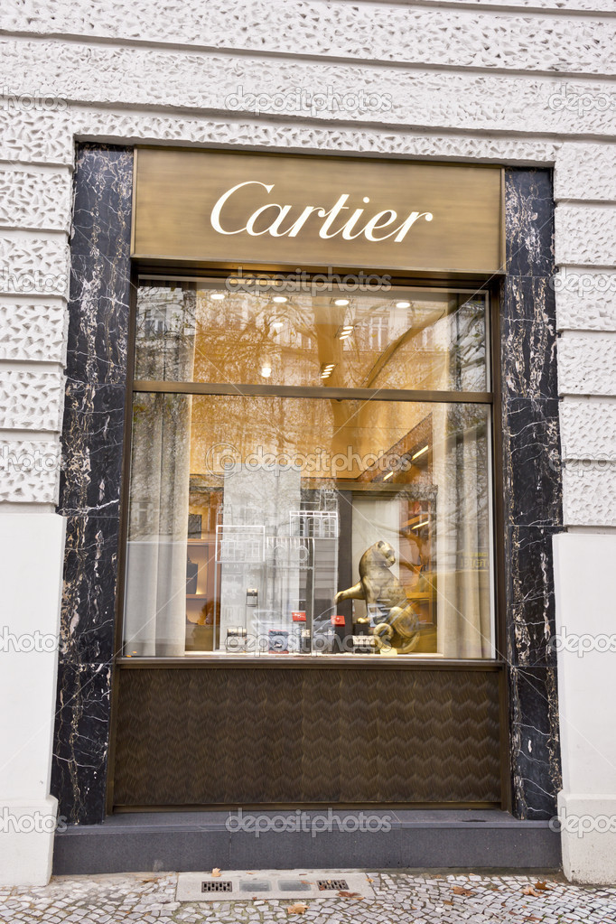 Cartier-Schaufenster in berlin — Redaktionelles Stockfoto © Debu55y ...
