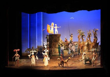 New York. Minskoff Theatre. The Lion King