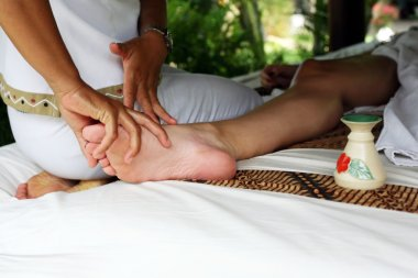 Massage of legs