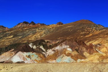 Color mountains of Death valley