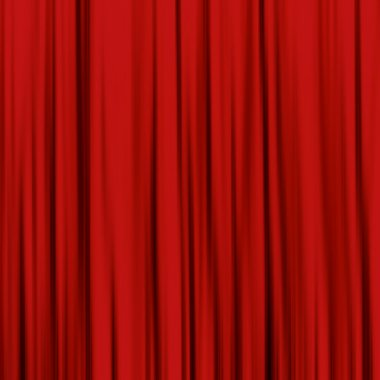 Red curtain, used as backgrounds and textures