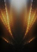 Fotografia mo di pixel quadrati multicolore oro luci astratto sfondo discoteca