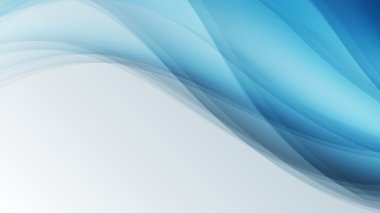 blue waves creative  lines abstract background vector illustrati