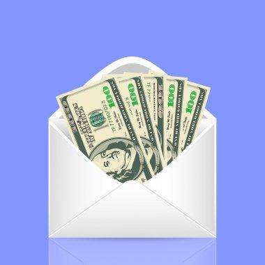 500 dollars in the envelope
