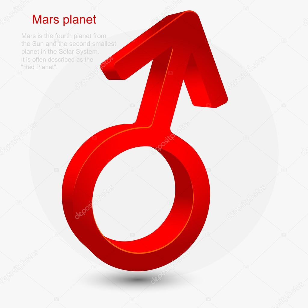 Symbol of mars planet stock vector fevralskaya t 25901481 astronomical symbol of mars planet vector illustration vector by fevralskaya t biocorpaavc Choice Image