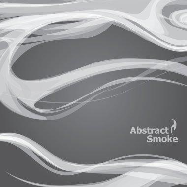 Vector smoke grunge dark background clip art vector