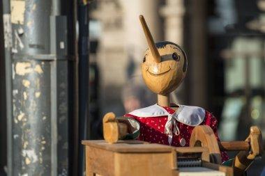 Music box with Pinocchio
