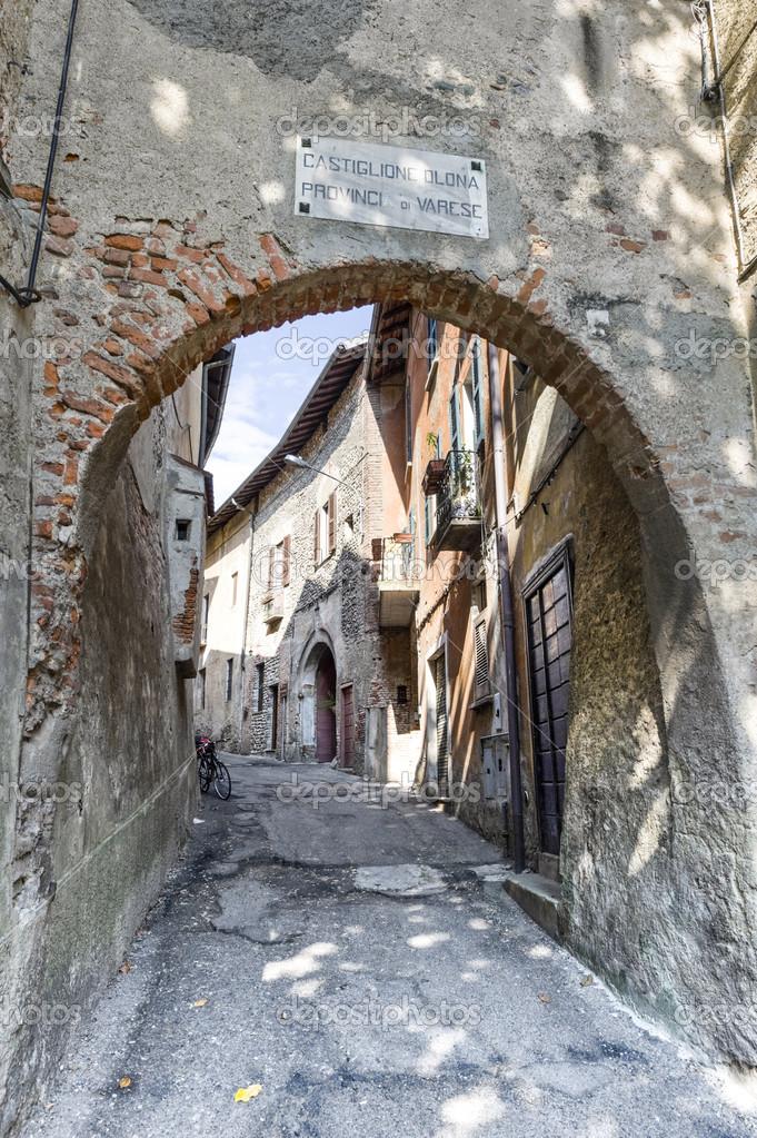 Varese Italien castiglione olona varese lombardei italien die altstadt