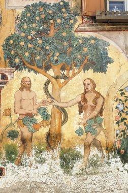 Ardez (Engadine): Adam and Eve