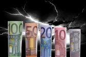 Fotografie euro-banknoten