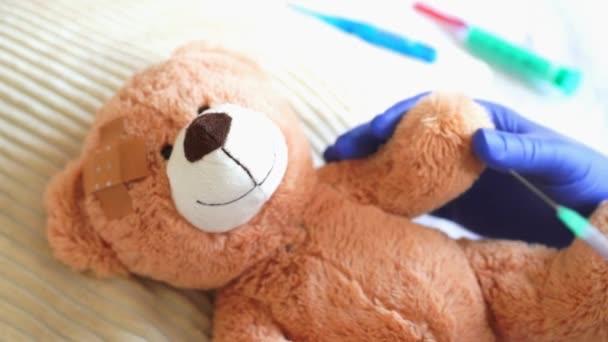 Teddy at the pediatrician