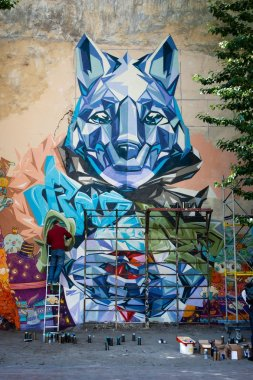 Street Art Fest. Saint-Petersburg. Стрит-арт фестиваль «Арт-стена».