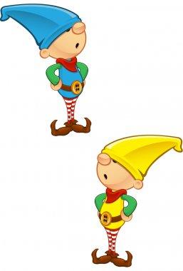 Elf Mascot - Hands On Hips