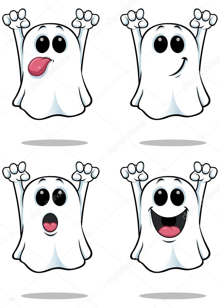 Fantasma Imágenes Vectoriales Ilustraciones Libres De