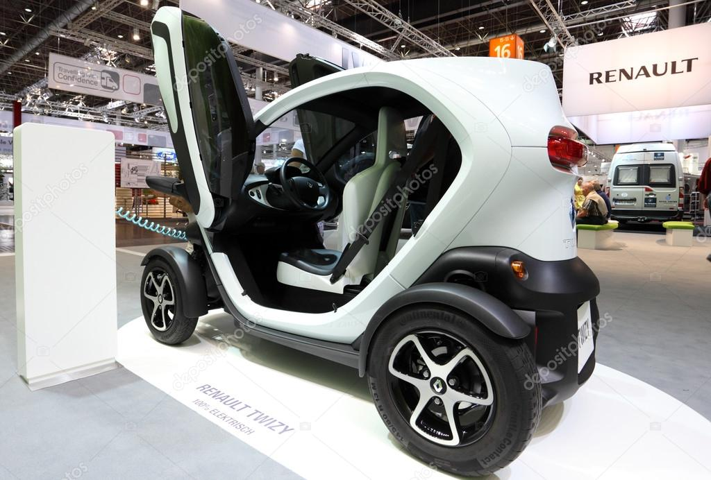 Elektrische Auto Renault Twizy Redactionele Stockfoto C Philipus