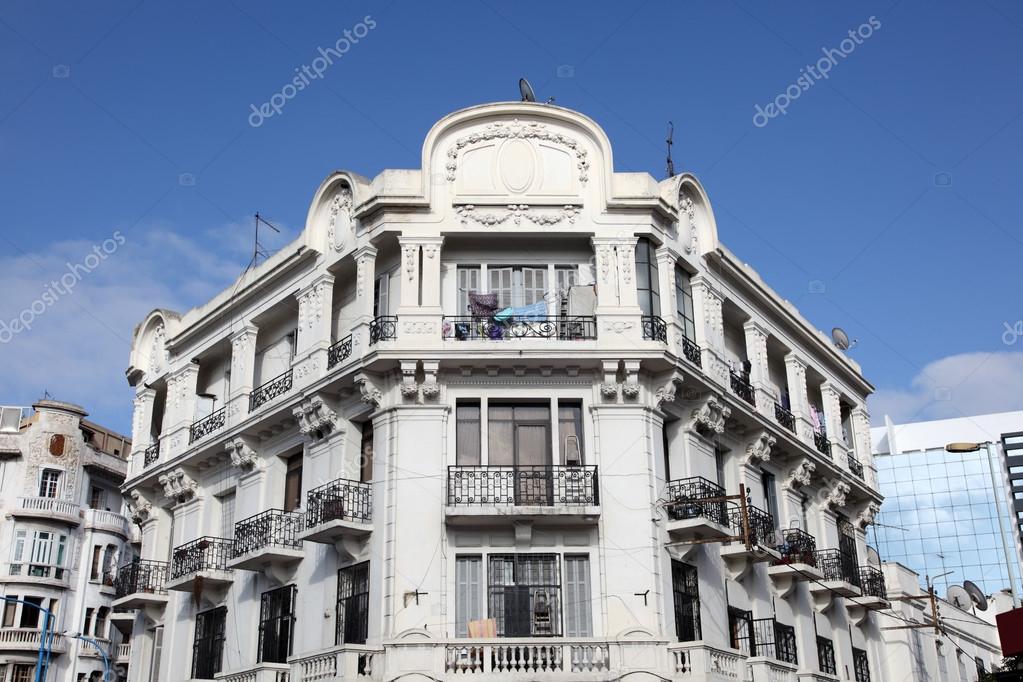 Deco Architektur deco architektur in casablanca marokko stockfoto philipus