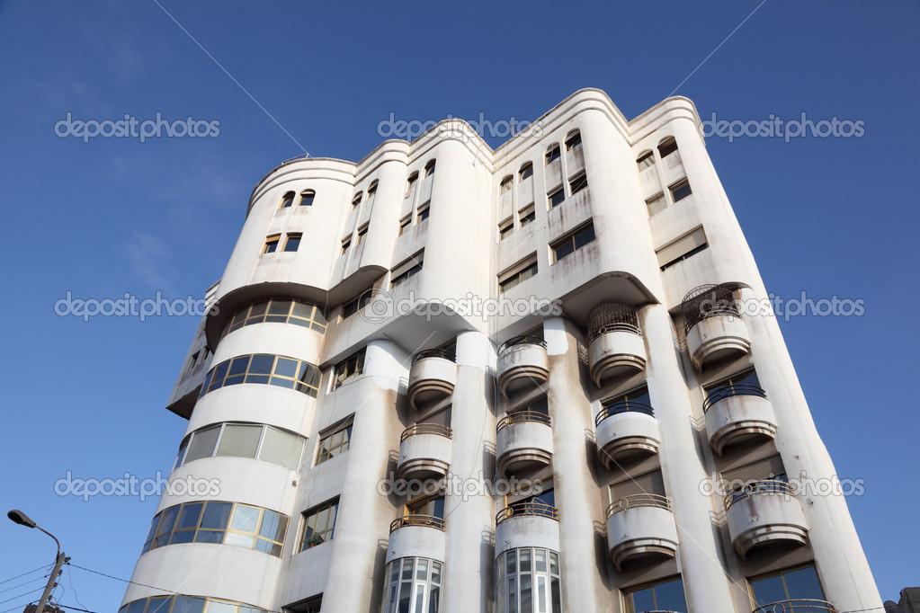 Deco Architektur deco architektur in der stadt casablanca marokko stockfoto