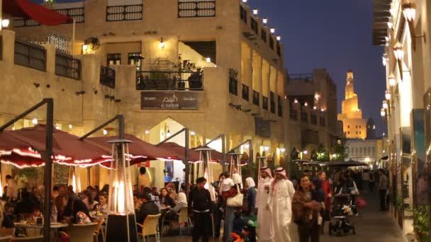 Souq Waqif at night, Doha, Qatar