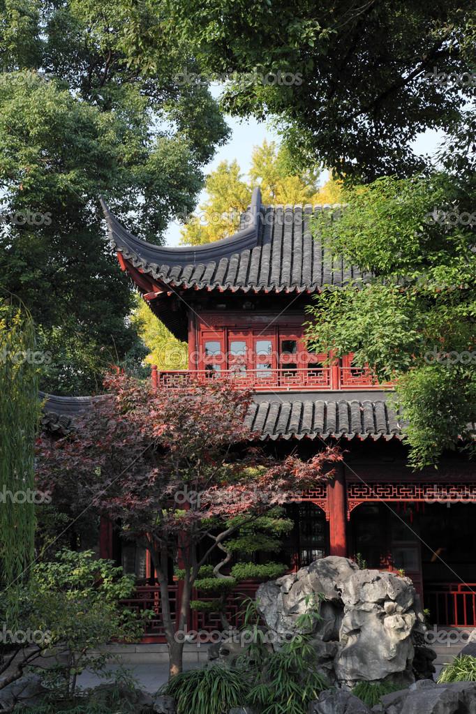La arquitectura tradicional china en el jard n yuyuan for Jardin de china