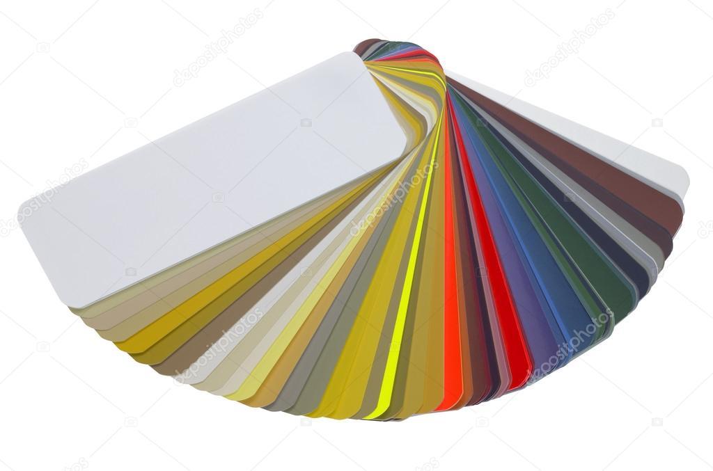 Spread Color Chart Stock Photo Gewoldi 13818080